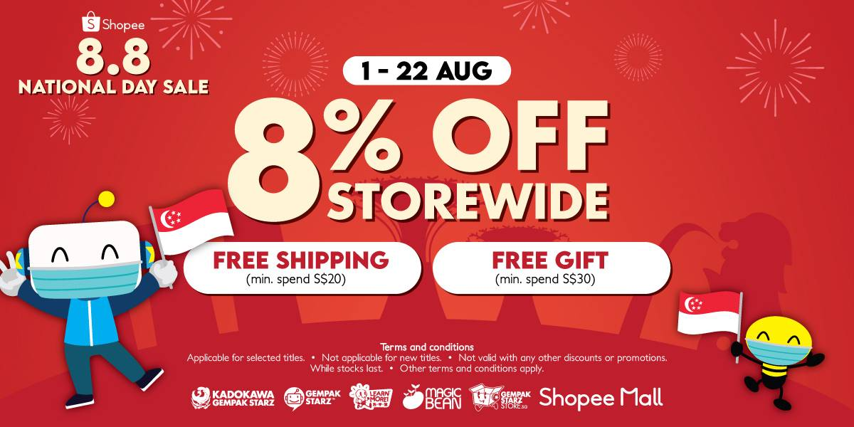 8.8 National Day Sale