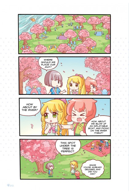 Candy Cuties 06: Lucky Lollipops Topic: Horoscopes & Travelling