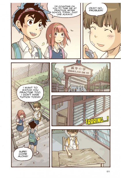 Warm Hearts Series 03: April Squall