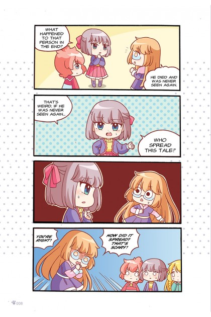 Candy Cuties 07: Spooky Sweets: Topic: Supernatural Encounters