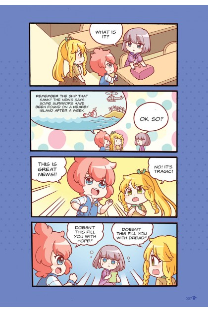 Candy Cuties 08: Sweet Souffle: Topic: Optimism