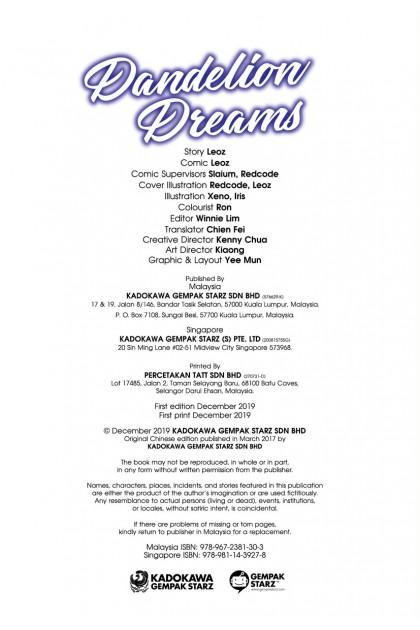 Warm Hearts Series 24: Dandelion Dreams
