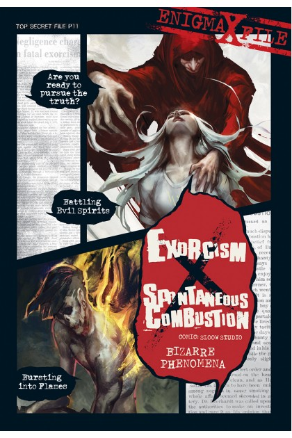 Enigma-X File 11: Exorcism x Spontaneous Combustion Bizarre Phenomena