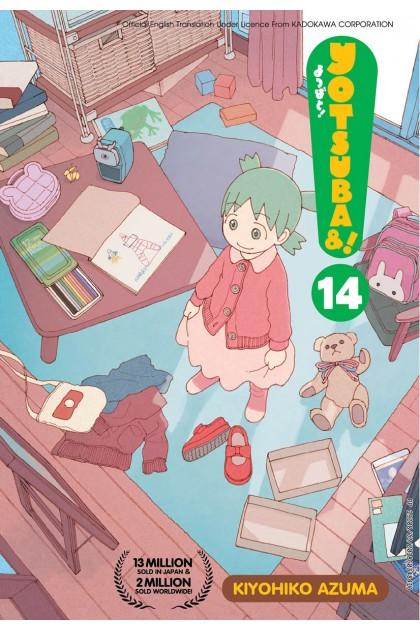 Yotsuba&! 14 (English)