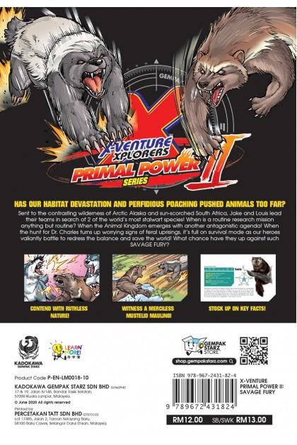 X-VENTURE Primal Power II 10: Savage Fury