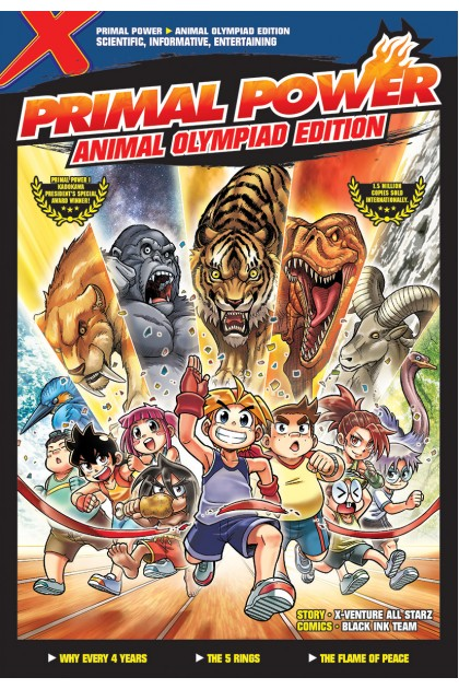 X-VENTURE Primal Power: Animal Olympiad Edition