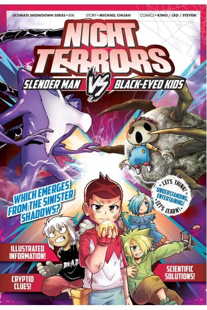 X-VENTURE Ultimate Showdown 08: Night Terrors: Slender Man VS Black-Eyed Kids