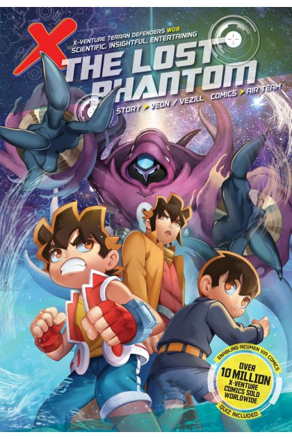 X-VENTURE Terran Defenders 08: The Lost Phantom