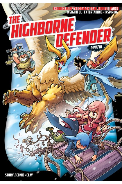 X-VENTURE Chronicles of the Dragon Trail II 01: The Highborne Defender • Griffin
