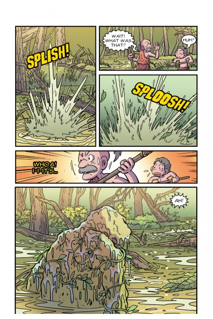Atu's Encounters: Curious World Volume 01: The Swamp Monster: Topic: Swamps
