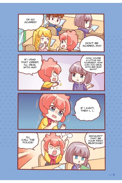 Candy Cuties Series 13: Irresistible Ice Cream: Topic: Self-Defence