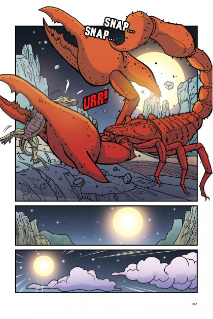 Atu's Encounters: Curious World Volume 02: The Red Scorpion: Topic: Deserts