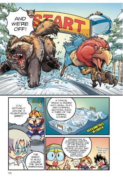 X-VENTURE Primal Power: Animal Olympiad Edition 2.0