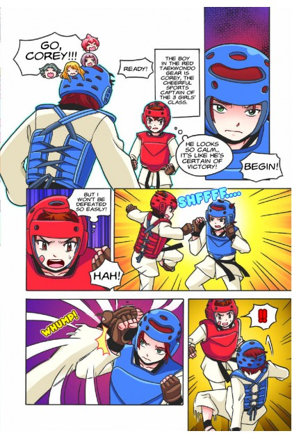 Candy Series 09: Girls On Guard: Self-Defence