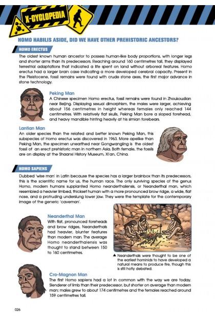 X-VENTURE Dinosaur Kingdom II Series 02: Rise of The Apeman