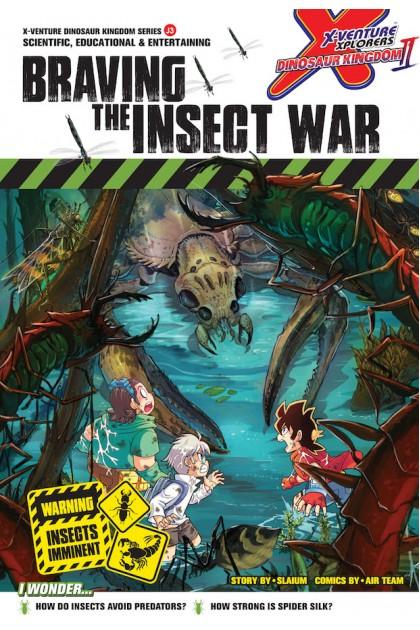 X-VENTURE Dinosaur Kingdom II Series: Braving The Insect War