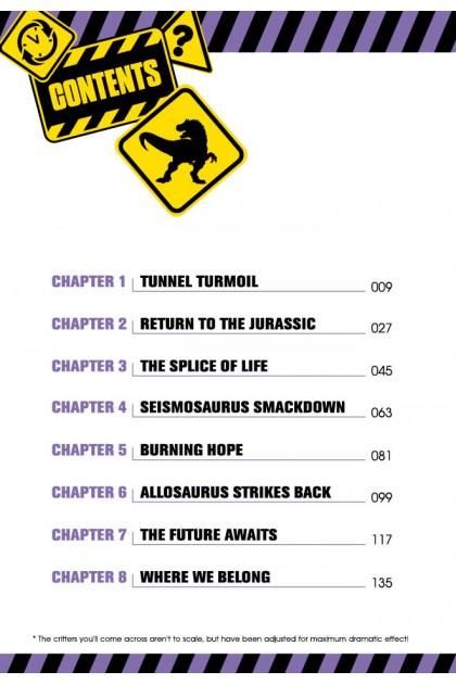 X-VENTURE Dinosaur Kingdom II Series 08: Rescue of The Chrono Surfers