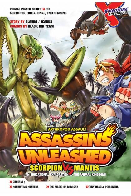 X-VENTURE Primal Power Series: Assassins Unleashed