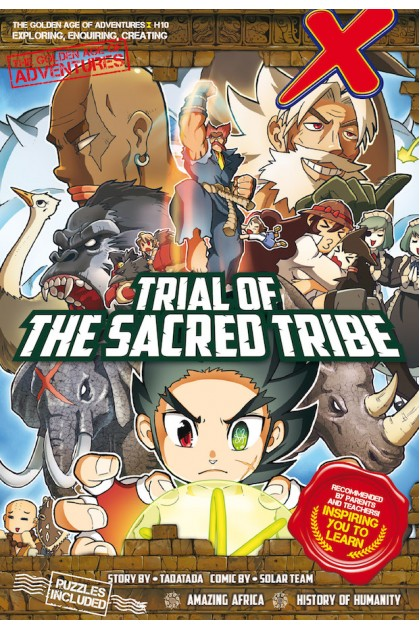 X-VENTURE The Golden Age of Adventures Series 10: Trial of The Sacred Tribe