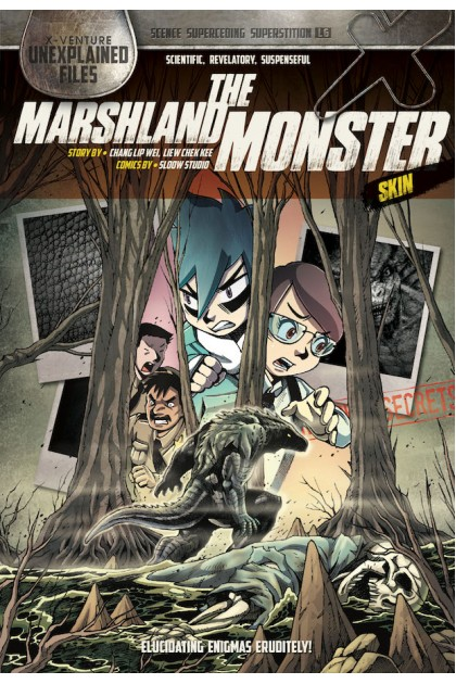 X-VENTURE Unexplained Files Series 06: The Marshland Monster