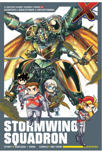 X-VENTURE Exobot Academy 08: Stormwing Squadron